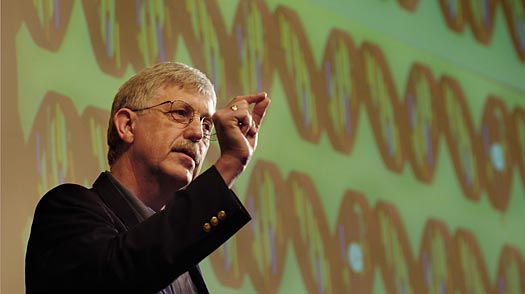 francis collins, true freethinker