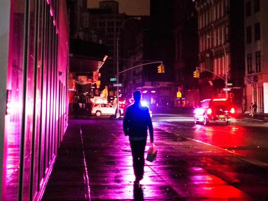 Down Broadway blackout
